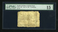 Colonial Notes:North Carolina, North Carolina July 14, 1760 20s PMG Choice Fine 15....