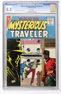 Silver Age (1956-1969):Mystery, Tales of the Mysterious Traveler #1 (Charlton, 1956) CGC VF+ 8.5White pages....