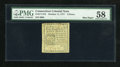 Colonial Notes:Connecticut, Connecticut October 11, 1777 4d PMG Choice About Unc 58....