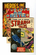Silver Age (1956-1969):Miscellaneous, Miscellaneous Silver Age Steve Ditko Group (Various, 1950s-60s)....(Total: 4 Comic Books)