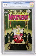 Bronze Age (1970-1979):Horror, House of Mystery #202 (DC, 1972) CGC NM- 9.2 White pages....