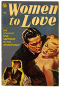 Golden Age (1938-1955):Romance, Women to Love #nn (Realistic Comics, 1953) Condition: VG....