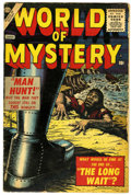 Golden Age (1938-1955):Horror, World of Mystery #1 (Atlas, 1956) Condition: VG-....