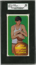 Basketball Cards:Singles (1970-1979), 1970-71 Topps Pete Maravich Rookie #123 SGC 92 NM-MT+ 8.5. One ofthe most beloved figures in post-war basketball history m...