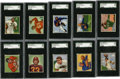 Football Cards:Sets, 1950 Bowman Football Complete Set (144). Offered is an attractive, mid-grade 1950 Bowman football complete set of 144 cards....