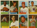 Baseball Cards:Lots, 1954 Bowman Baseball Collection (23). Includes #'s 6 Fox (VG/EX),15 Ashburn (VG/EX), 57 Wilhelm (VG/EX), 62 Slaughter (EX),...