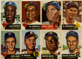Baseball Cards:Lots, 1953 Topps Baseball Collection (70). Includes #'s 1 Robinson (FR),27 Campanella (GD), 37 Mathews (GD), 61 Wynn (VG), 62 Irv...