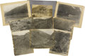 Western Expansion:Goldrush, Lot of Nine Mining Photographs, ca. 1890s. ...
