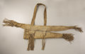 American Indian Art:Pipes, Tools, and Weapons, A PLAINS BUFFALO HIDE BOWCASE AND QUIVER. c. 1870...
