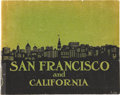 Miscellaneous:Booklets, Pictorial Booklet San Francisco, California, 1909....