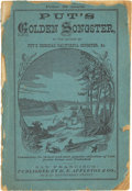 Miscellaneous:Booklets, Putt's Golden Songster, Collection of California Songs, 1858.. ...