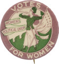 Political:Pinback Buttons (1896-present), [Woman's Suffrage Movement] Women's Political Union Herald Pin....