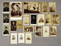 Photography:Official Photos, Collection of Twenty-one Miscellaneous Civil War Era Images....