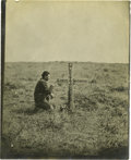 Military & Patriotic:Indian Wars, Unmounted Photograph of J. J. Crittenden Reburial....