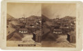 Photography:Stereo Cards, Stereoview, Goldhill (Virginia City), Nevada, ca. 1870s.. ...