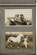 Western Expansion:Cowboy, Exceptional Buffalo Bill/Sells-Floto Photo Album, ca. 1914....