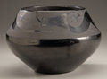 American Indian Art:Pottery, A SAN ILDEFONSO BLACKWARE JAR. Maria Martinez . c. 1925...