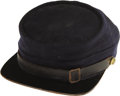 Military & Patriotic:Indian Wars, Military-Style Five Button Coat with Kepi Cap.... (Total: 2 Items)