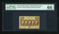 Fractional Currency:First Issue, Fr. 1280 25c First Issue PMG Choice Uncirculated 64 EPQ....