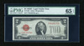 Small Size:Legal Tender Notes, Fr. 1505 $2 1928D Legal Tender Note. PMG Gem Uncirculated 65 EPQ.. ...