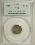 Early Half Dimes, 1800 H10C VF20 PCGS....