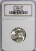 Washington Quarters, 1940-D 25C MS67 NGC....
