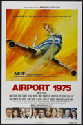 """Movie Posters:Action, Airport 1975 Lot (Universal, 1974). One Sheet (2) (27"""" X 41"""").Action.... (Total: 2 Item)"""