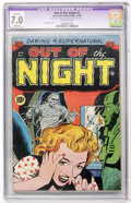 Golden Age (1938-1955):Horror, Out of the Night #2 (ACG, 1952) CGC Apparent FN/VF 7.0 Slight (A)Off-white pages....