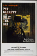 "Movie Posters:Western, Pat Garrett and Billy the Kid (MGM, 1973). One Sheet (27"" X 41"").Western...."