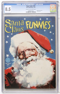 Four Color #91 Santa Claus Funnies (Dell, 1945) CGC VF+ 8.5 Cream to off-white pages