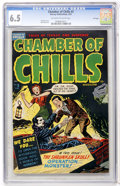 Golden Age (1938-1955):Horror, Chamber of Chills #5 File Copy (Harvey, 1952) CGC FN+ 6.5 Off-whiteto white pages....