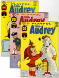 Silver Age (1956-1969):Humor, Playful Little Audrey File Copies Group (Harvey, 1963-74) Condition: Average NM-.... (Total: 45 Comic Books)