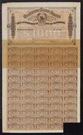 Confederate Notes:Group Lots, Ball 241 Cr. 122 $1000 Bond 1863. VF. Ball 329 Cr. 144D $1000 Bond1864 VF.. ... (Total: 2 items)