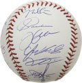 Autographs:Baseballs, 2005 Chicago White Sox Team Signed Baseball. One of the longestWorld Championship droughts came to an end this season, exo...