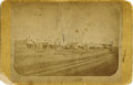 Photography:Cabinet Photos, Cabinet Card Photograph of Early View Street Scene, Dodge City,Kansas, ca. 1870s-1880s....