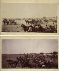 "Photography:Official Photos, Two Oklahoma Land Rush Photographs, ""The Start"" by A. A. Forbes ca 1889...."