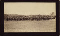 """Photography:Cabinet Photos, Gorgeous Imperial Size Photograph of Troop """"D"""", 5th U. S. Cavalryat Oklahoma Land Rush ca 1889. ..."""