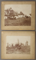 Photography:Cabinet Photos, C.S.R. Hamilton Photographs, Ma Bell Conquering the West ca1890s.... (Total: 2 Items)