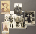Photography:Cabinet Photos, Lot Of Five W. F. Cody/ Buffalo Bill Photographs, ca. 1890-1915....(Total: 5 Items)