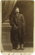 Photography:CDVs, Carte de Visite of Union General L.P.W. Reed. ...