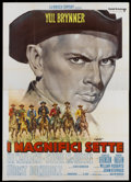 "Movie Posters:Western, The Magnificent Seven (United Artists, 1960). Italian 4 - Folio(55"" X 77""). Western...."