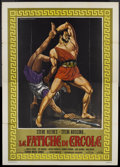 "Movie Posters:Adventure, Hercules (Regina, 1959). Italian 4 - Folio (55"" X 77""). Adventure...."