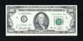 Error Notes:Obstruction Errors, Fr. 2167-E $100 1974 Federal Reserve Note. Choice Crisp Uncirculated.. ...