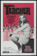 "Movie Posters:Sexploitation, The Teacher (Crown International, 1974). One Sheet (27"" X 41"").Sexploitation...."