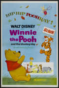 "Movie Posters:Animated, Winnie the Pooh and the Blustery Day Lot (Buena Vista, 1969). One Sheets (2) (27"" X 41"") Tri-Folded. Animated.... (Total: 2 Items)"
