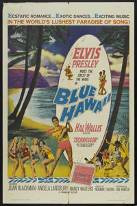 "Blue Hawaii (Paramount, 1961). One Sheet (27"" X 41""). Elvis Presley"