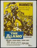 """Movie Posters:Western, The Alamo (United Artists, R-1970s). One Sheet (30.25"""" X 40""""). Western.. ..."""