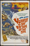 "Movie Posters:Adventure, Voyage to the Bottom of the Sea (20th Century Fox, 1961). One Sheet(27"" X 41""). Adventure...."