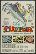 """Movie Posters:Adventure, Flipper (MGM, 1963). One Sheet (27"""" X 41""""). Adventure...."""