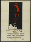 "Movie Posters:Crime, The Godfather (Paramount, 1972). British One Sheet (27"" X 40"").Crime...."